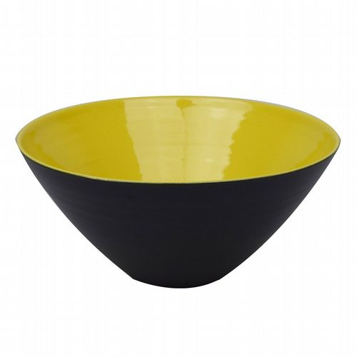 Conical Bowl - Medium - Yellow